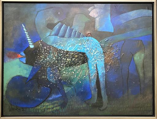 Juan Vicente RODRIGUEZ BONACHEA - Pintura - Unicornio