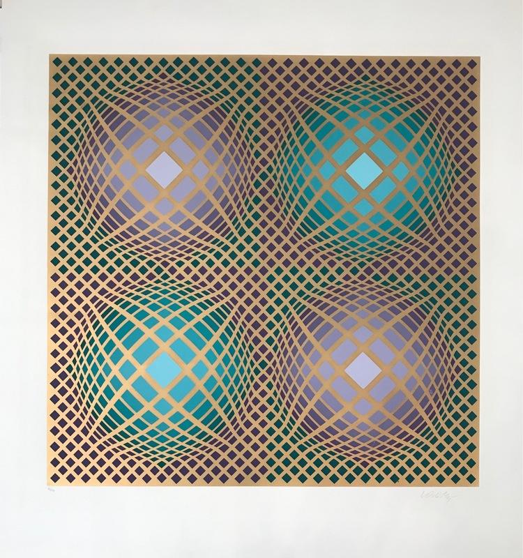 Victor VASARELY - Print-Multiple - Villag-4