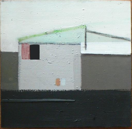 Merlin JAMES - Pintura - The window
