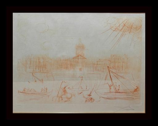 Salvador DALI - Grabado - Academie des Beaux Arts