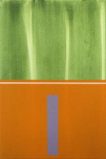 Milly RISTVEDT - Painting - Verticality #4