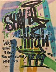 STAYHIGH 149 - Peinture - High WAR Figural Android Green