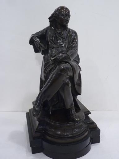 CARRIER-BELLEUSE - Sculpture-Volume - Le Poète Pierre-Jean de Béranger