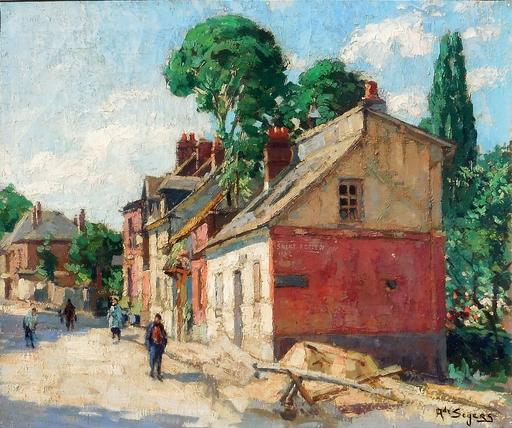 Adrien SEGERS - Pintura - ST ADRIEN près ROUEN