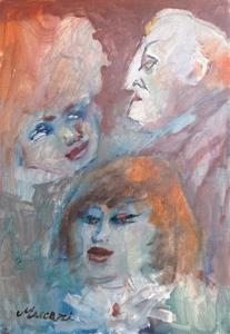 Mino MACCARI - Pintura