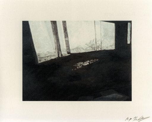 Luc TUYMANS - Estampe-Multiple - Fenetre