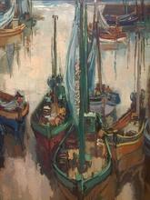 Paul GIROL (1911-1989) - Les Bateaux