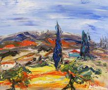 Jean SARDI - Peinture - Le sud