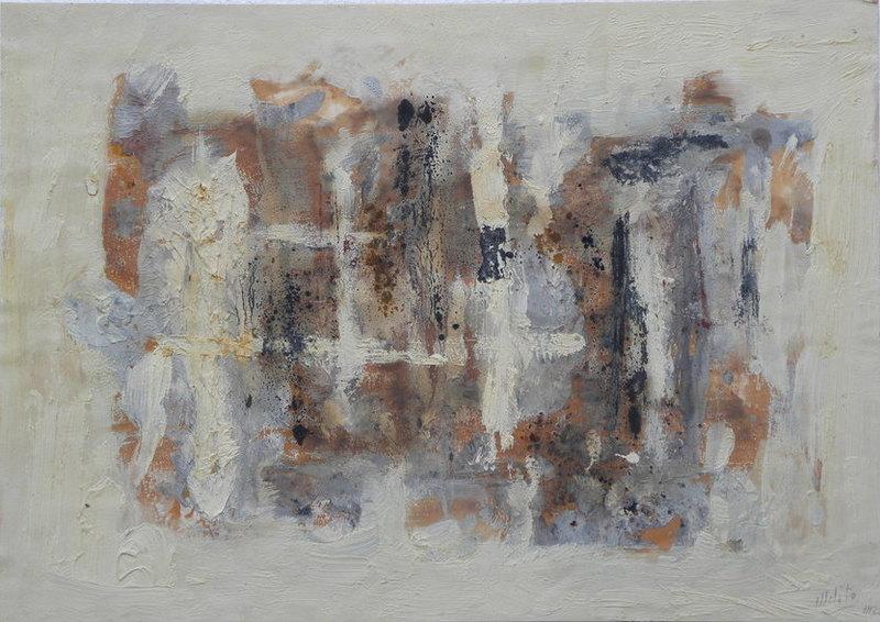 MÉLITO - Peinture - composition abstraite