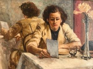 Paul GARIN - Pintura - Le menu