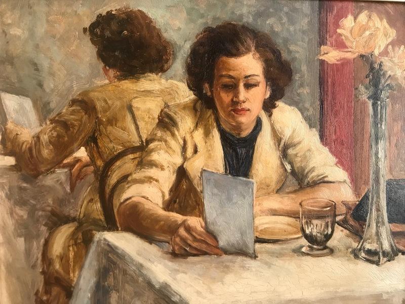 Paul GARIN - Peinture - Le menu