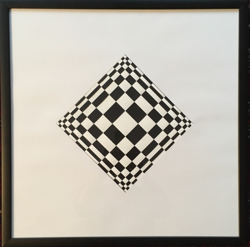 Edoardo LANDI - Pittura - Strutturazione ortogonale