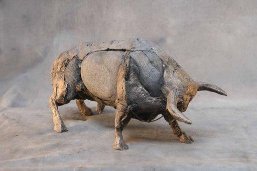 Palolo VALDES - Escultura - TORO GOYA