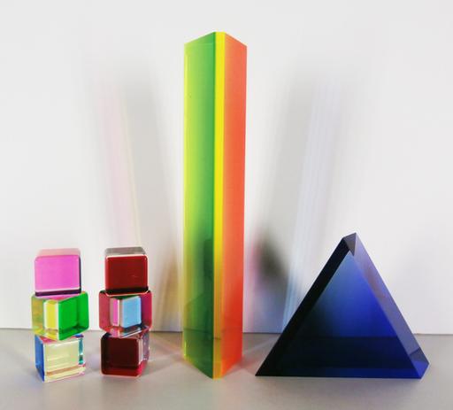 Velizar Mihich VASA - Sculpture-Volume - Set of 8 Acrylic Sculptures