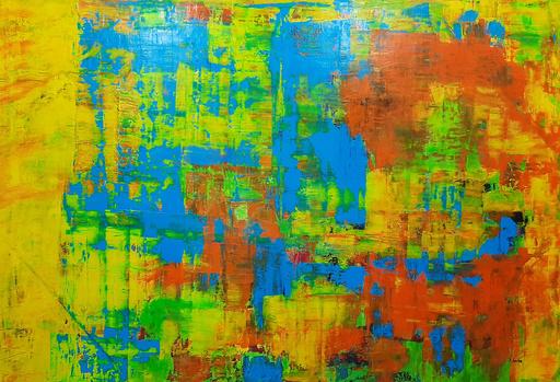Patrick JOOSTEN - Peinture - Etude en Jaune