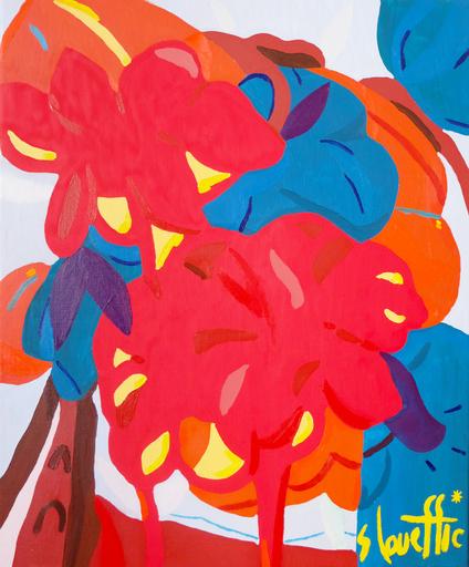Sébastien COUEFFIC - Painting - composition florale 2