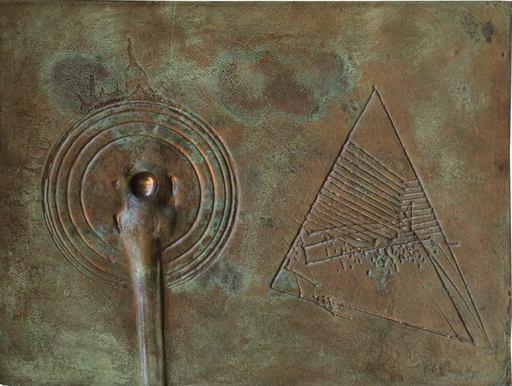 Emilio SCANAVINO - Sculpture-Volume - Bassorilievo