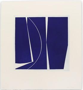 Joanne FREEMAN - Print-Multiple - Covers 4 Ultramarine