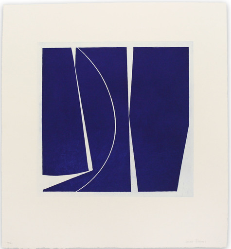 Joanne FREEMAN - Print-Multiple - Covers 4 Ultramarine