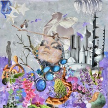 Laetitia DE GAULLE - Painting - Modern time