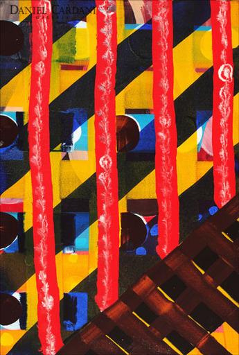 """Juan USLÉ - Painting - """"Zonier"""""""
