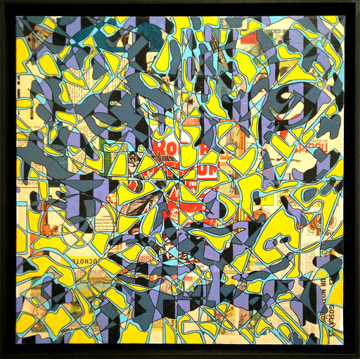 Christophe STREICHENBERGER - Pintura - Urban Panther