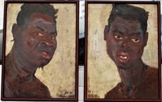Charley GARRY - Pintura - portrait congo