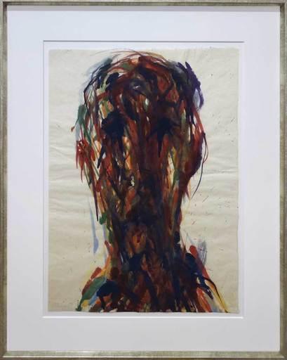 Max UHLIG - Pintura - Selbstportrait