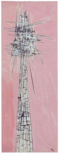 Achille PERILLI - Painting - Senzi Titolo