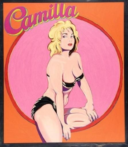 Mel RAMOS - Estampe-Multiple - Camilla