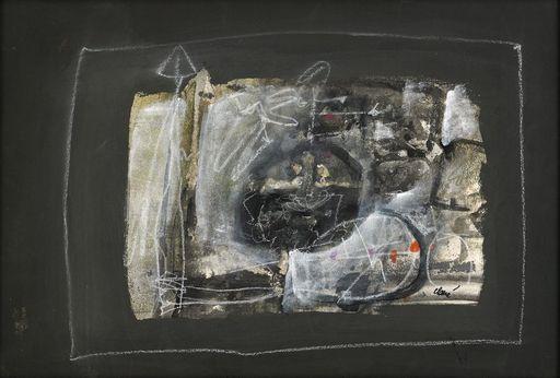 Antoni CLAVÉ - Painting - Guerrier a la lance
