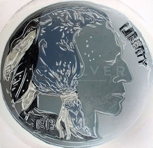 安迪·沃霍尔 - 版画 - Indian Head Nickel (FS II.385)