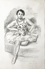 Henri MATISSE - Print-Multiple - Danseuse assis