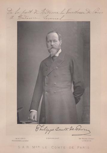 Lucien WALÉRY - Fotografie - Philippe - Comte de Paris