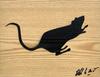 BLEK LE RAT - Pittura - Sans Titre