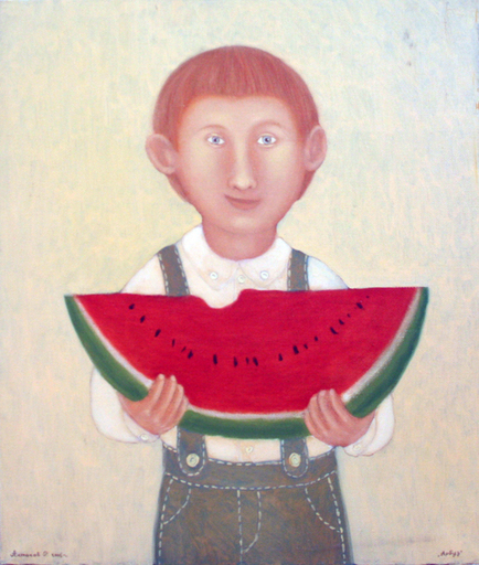 Roman ANTONOV - Painting - Water-Melon