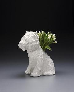 Jeff KOONS - Ceramiche - Puppy Vase