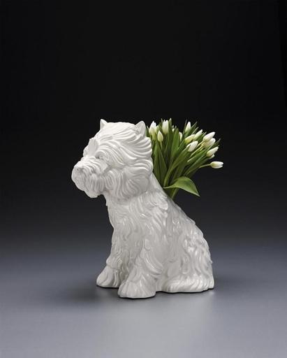 Jeff KOONS - Cerámica - Puppy Vase