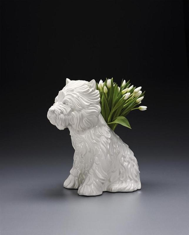 Jeff KOONS - Céramique - Puppy Vase