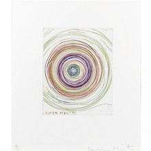 达米恩•赫斯特 - 版画 - Beautiful exotic stretching etchy spinning.