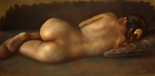 Jean-Christophe GONDOUIN - Peinture - Nellie