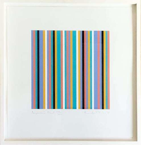 Bridget RILEY - Estampe-Multiple - Serpentine Print
