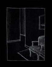 Juan MUÑOZ (1953-2001) - Raincoat Drawing
