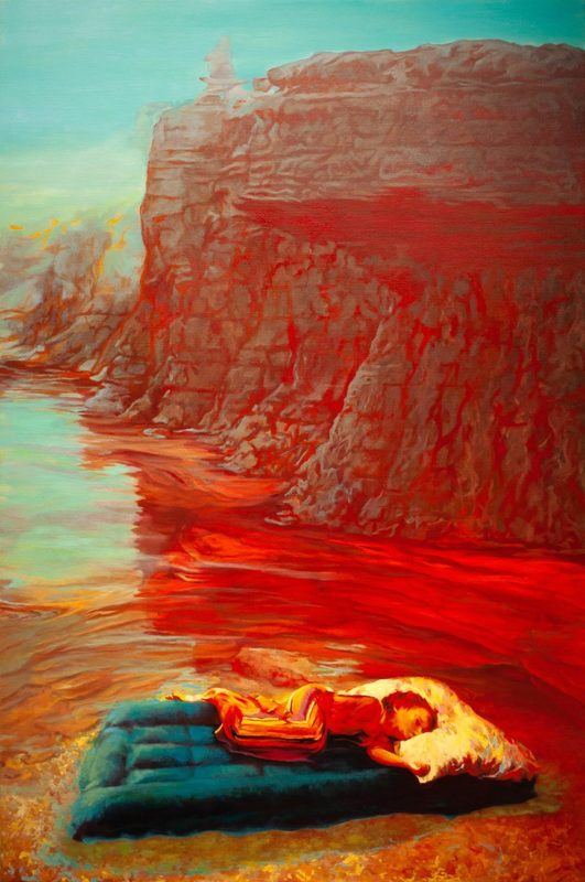 Guillaume MONTIER - Painting - « Isle of everywhere »