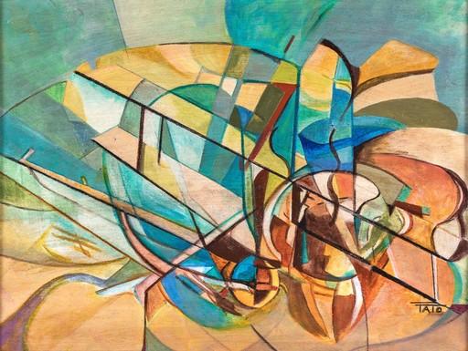Guglielmo Sansoni TATO - Pintura - DINAMISMO AEREO