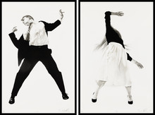 Robert LONGO - Stampa Multiplo - Men in the Cities (2 pieces, matching edition)