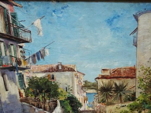 Louis ABEL-TRUCHET - Painting - villefranche/mer