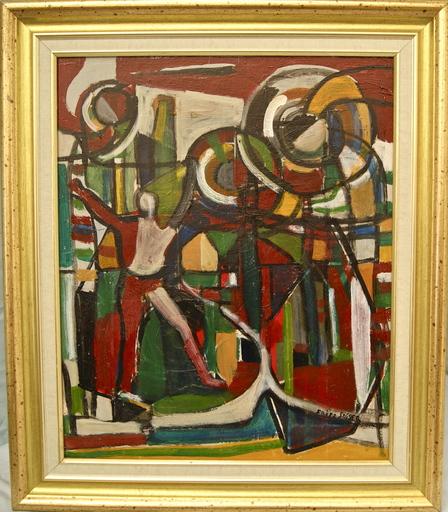 Fritz STÄGER - Painting - Personnage