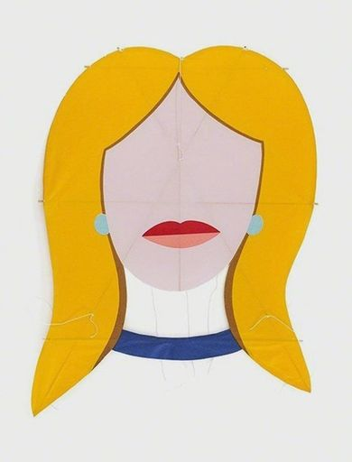 Tom WESSELMANN - Stampa Multiplo - Blonde Kite