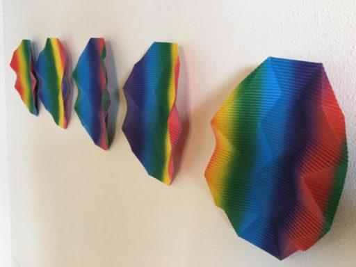 Vincenzo MARSIGLIA - Sculpture-Volume - Fold Paper